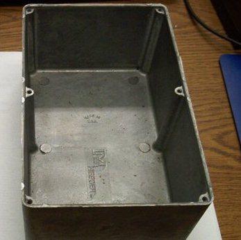 aluminum box enclosure
