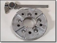 Aluminum Die Cast Car Wheel Spacer Part