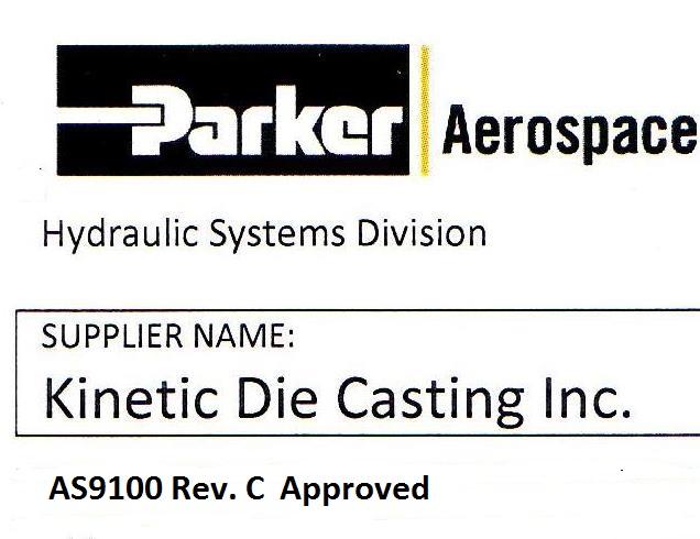 Parker AS9100 Quality Die Casting Parts