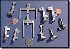Small die casting parts