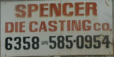 Spencer Die Casting Company