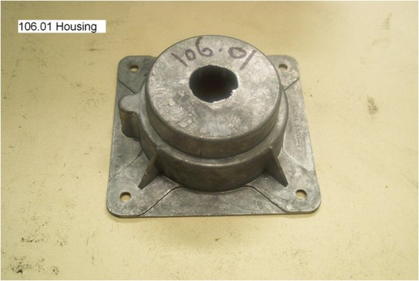 aircraft housing part