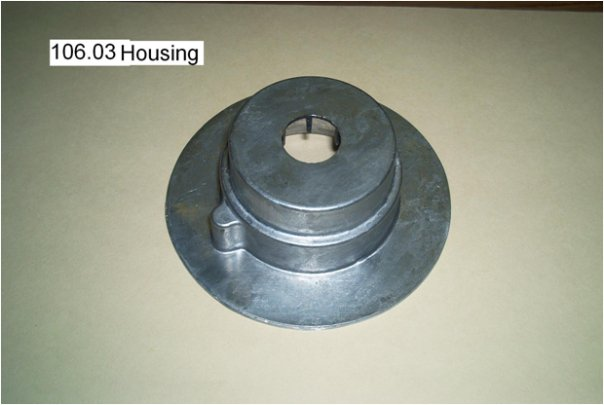 aircraft ball housing part