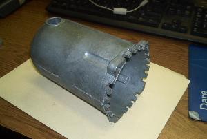 motor housing casting