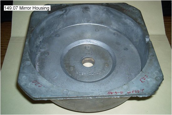 mirror housing part