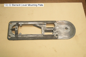 Element cover mounting plate