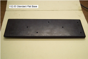standard flat base casting, teflon coated