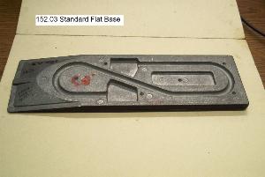 standard flat base casting, raw