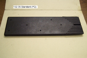standard partially groved plate, teflon coated