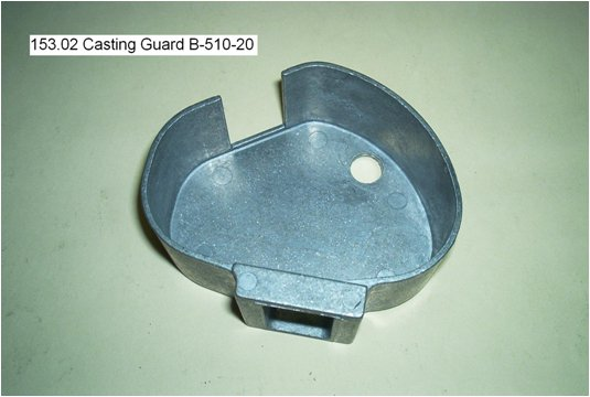 casting guard housing