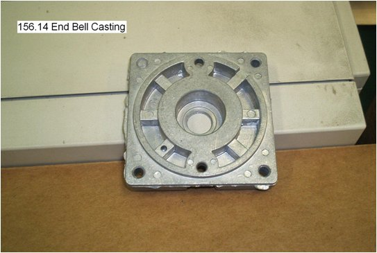 enclosure end bell part