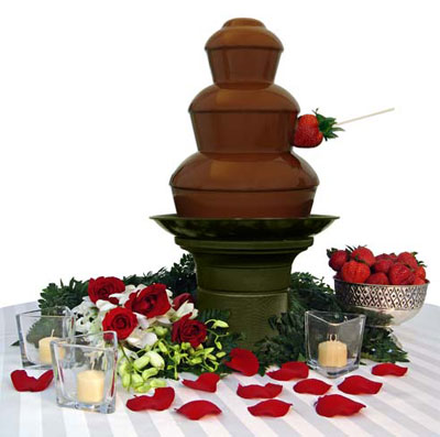 Diecast Heaterplate for Chocolate Fundue Fountain
