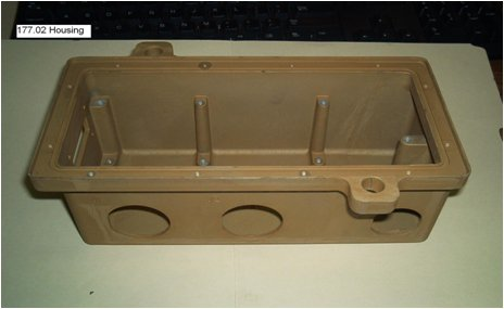 fire suppression control housing part