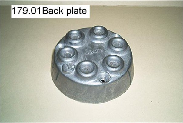 backplate part