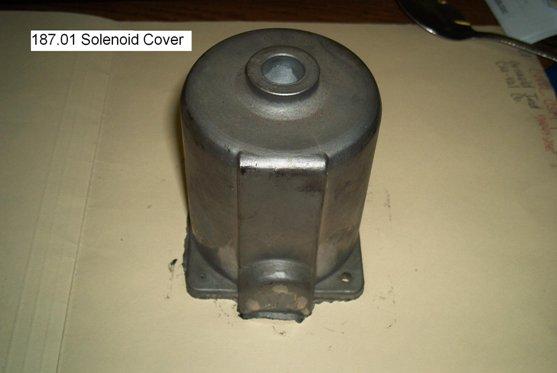 solenoid cover