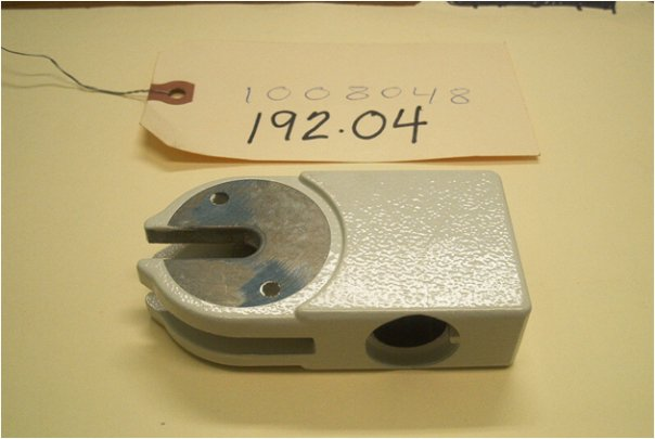 zinc part used in the joint of the mechanical arm