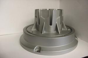 LED light housing heat sink