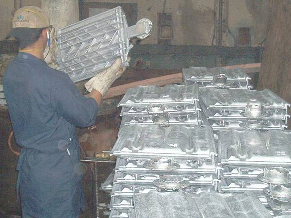 aluminum tile-mold