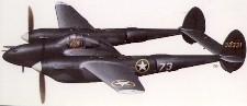 P-38 Lockheed Pursuit 1938