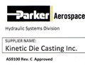 Parker Aerospace AS9100C Approval